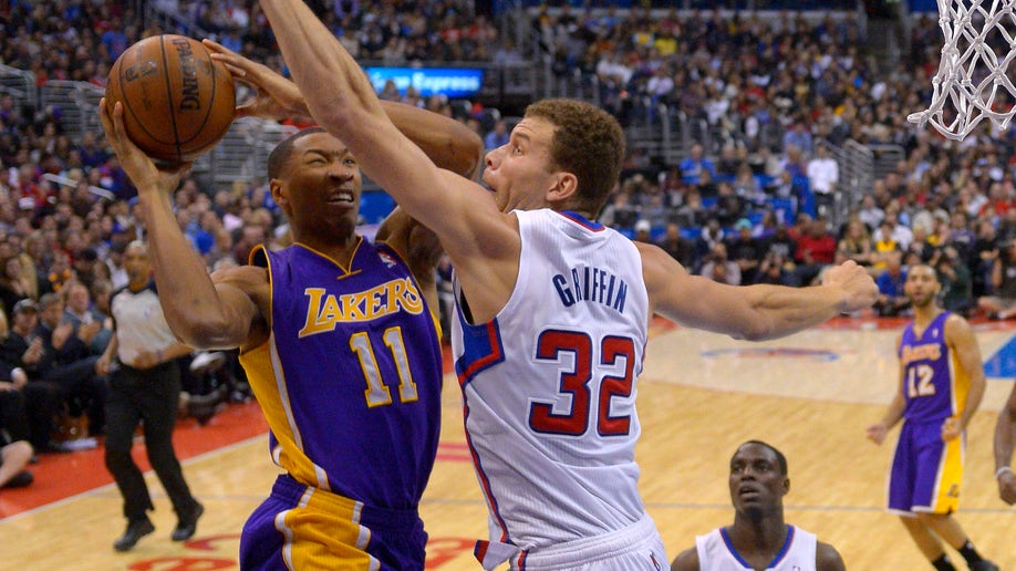 Lakers Clippers Basketball