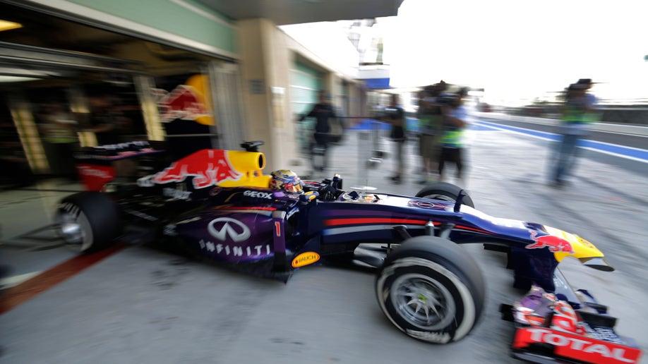 bacccaff-APTOPIX Mideast Emirates F1 GP Auto Racing