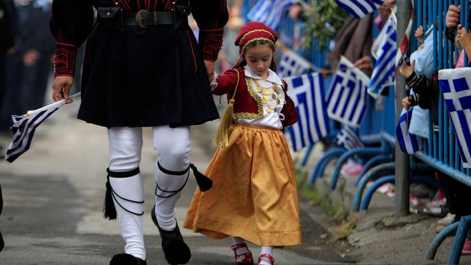 Greece Parade