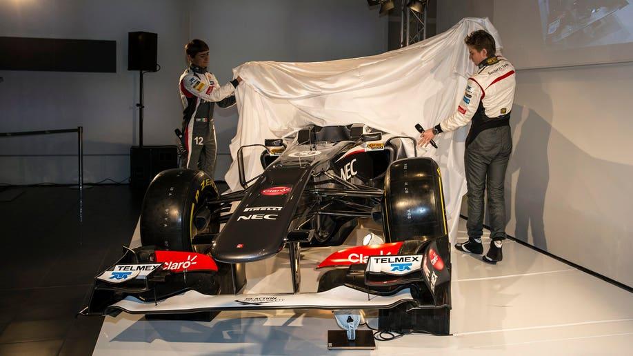 Switzerland Formula One  Sauber Ferrari