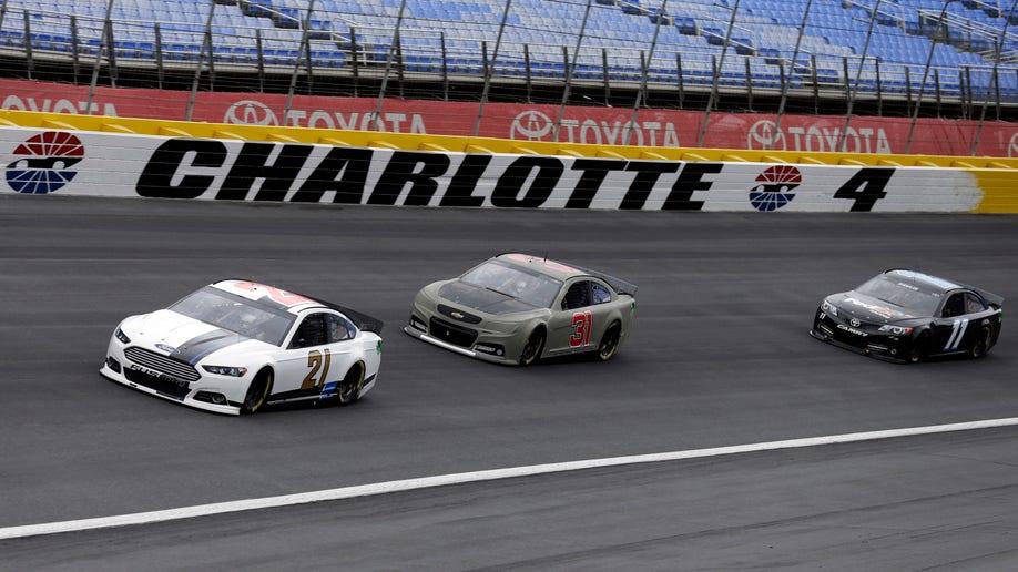 NASCAR Charlotte Testing Auto Racing