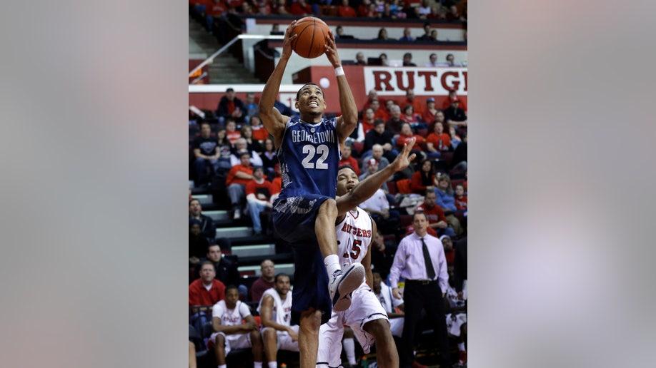 Georgetown Rutgers Basketball