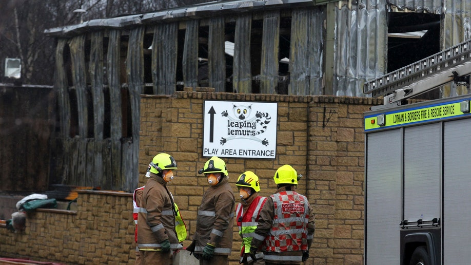 Britain Zoo Fire