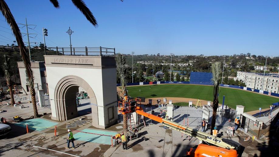 San Diego Fowler Park Baseball