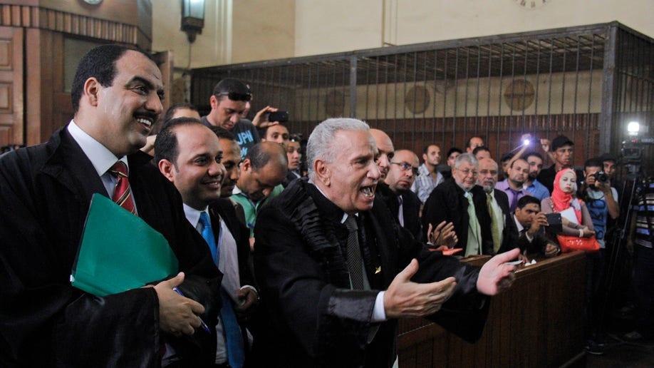 Mideast Egypt Prosecuting The Brotherhood