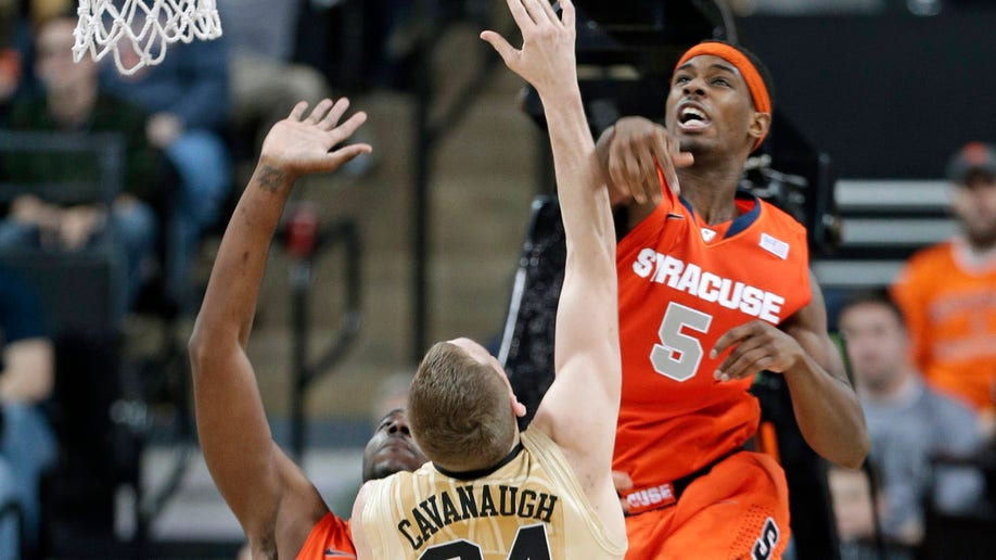 Syracuse Wake Forest Basketball