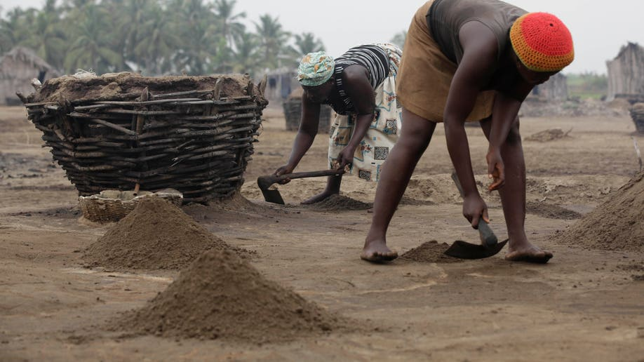 Benin Salt Farmers