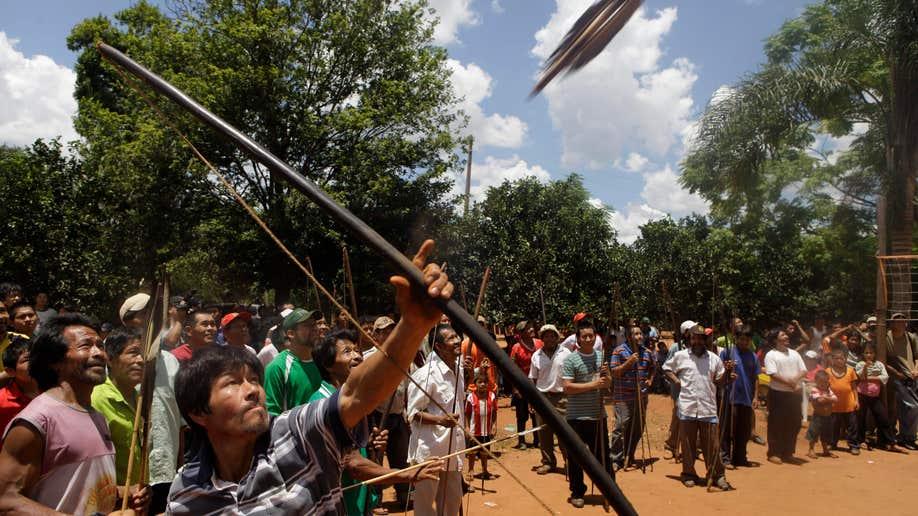 Paraguay Ache Indians