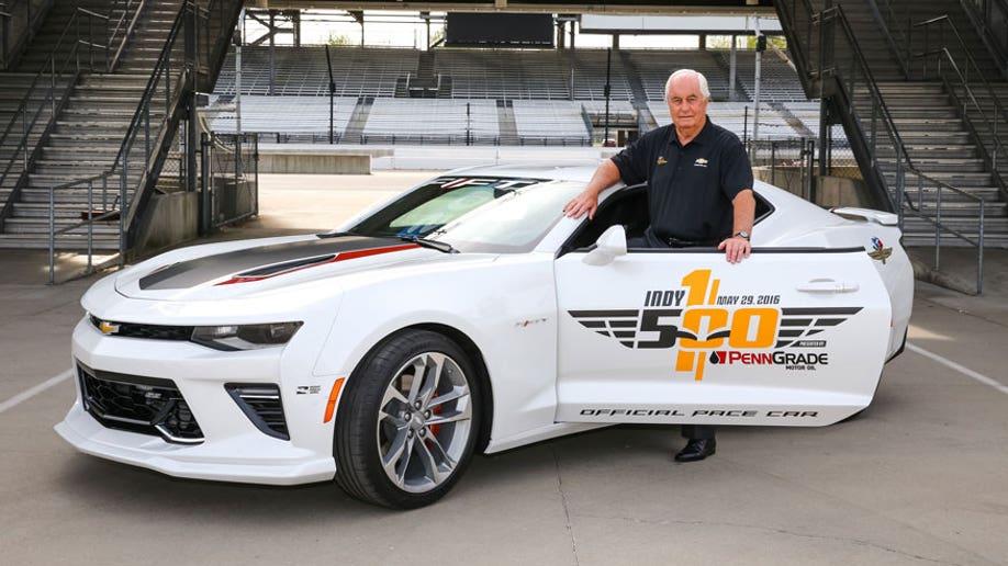 b3c6b289-Roger Penske To Drive Indy 500 Camaro SS Pace Car