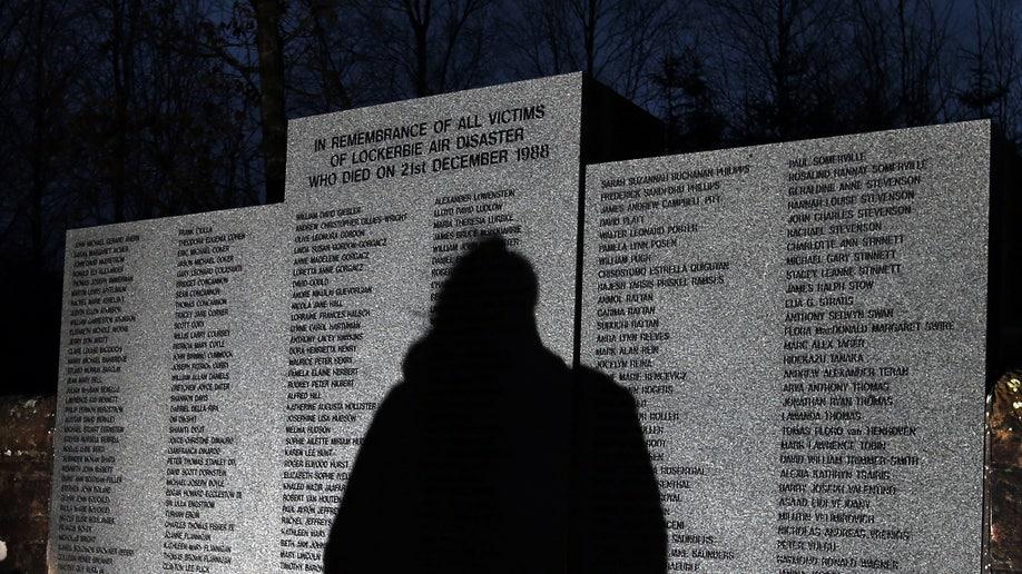 APTOPIX Britain Lockerbie 25th Anniversary