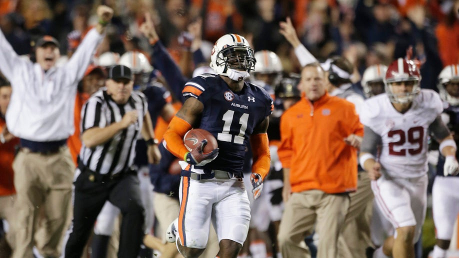 Auburn Memorable Monent Football