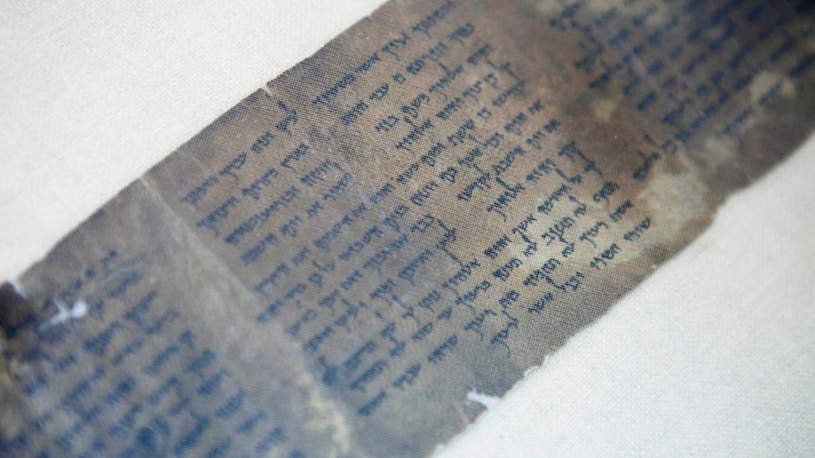 Mideast Israel Selling The Scrolls