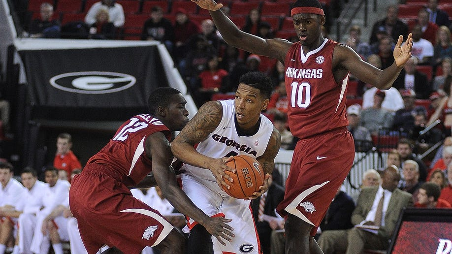 Arkansas Georgia Basketball
