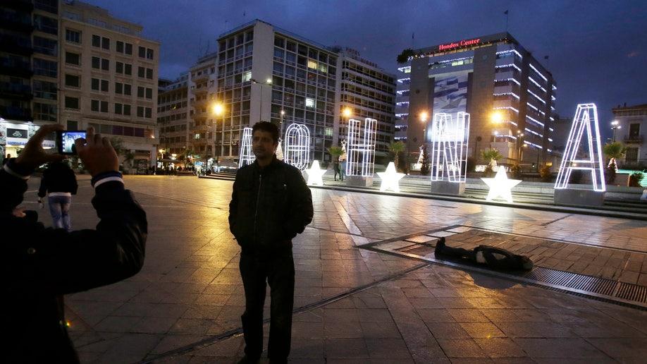 Greece Christmas Financial Crisis