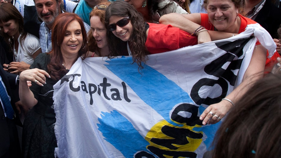 ARGENTINA-JUVENTUD KIRCHNERISTA