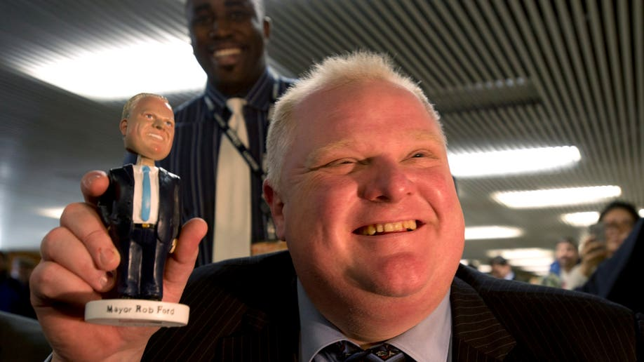 Canada Toronto Mayor Highs and Lows