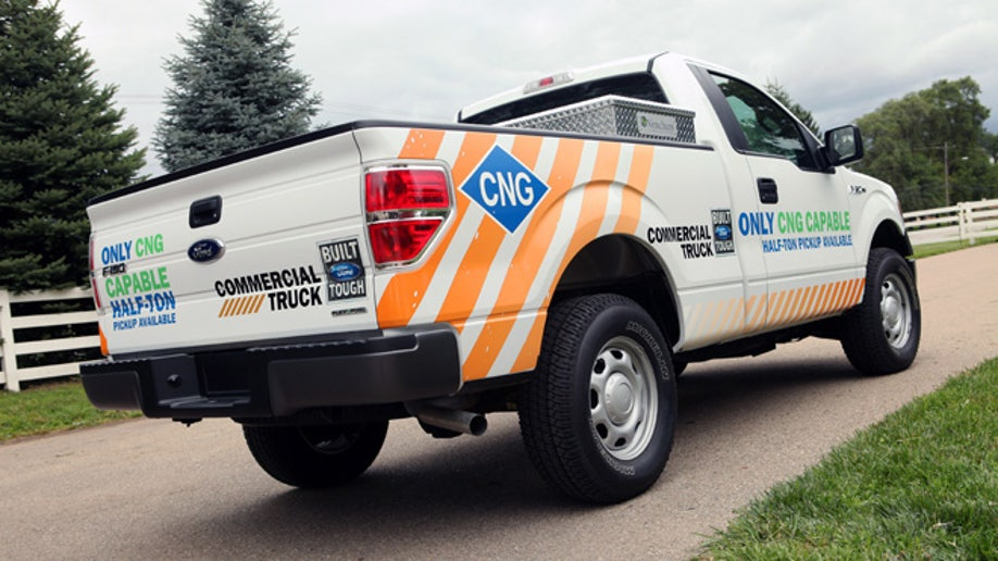 Ford will offer the 2014 F-150 with the ability to run on compressed natural gas, making Ford the only manufacturer with an available CNG/LPG-capable half-ton pickup