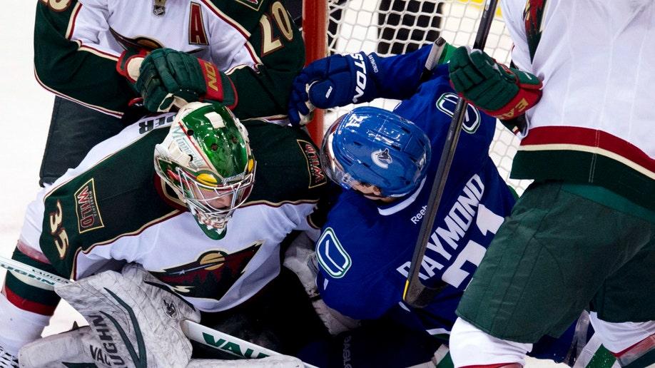 Wild Canucks Hockey
