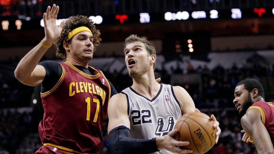 Cavaliers Spurs Basketball