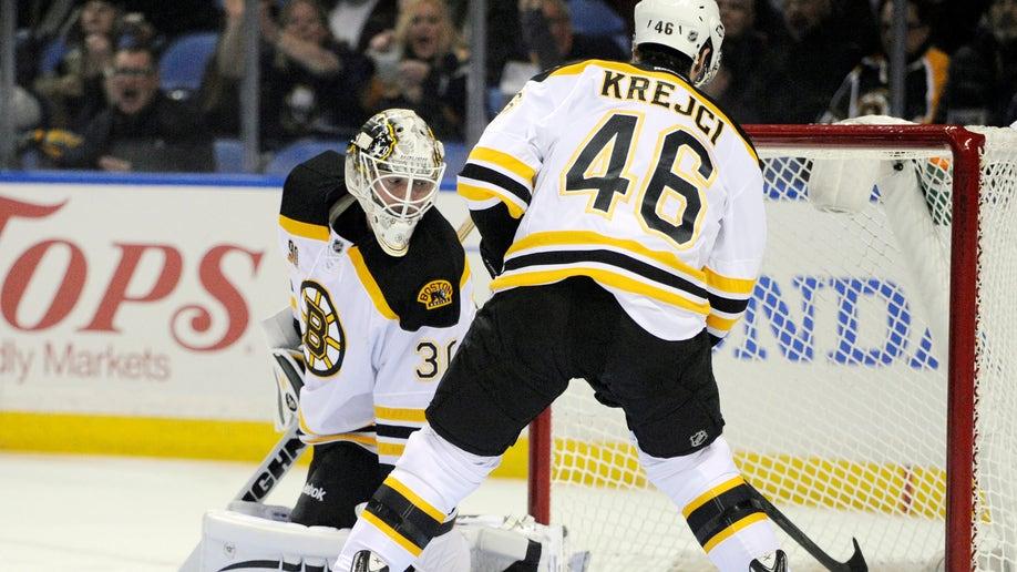 Bruins Sabres Hockey