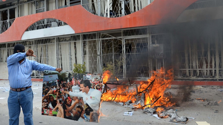 Mexico Teachers Revolt