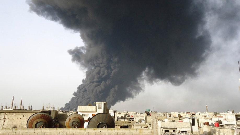 Mideast Syria Oil
