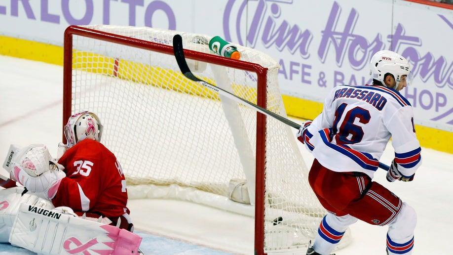 Rangers Red Wings Hockey