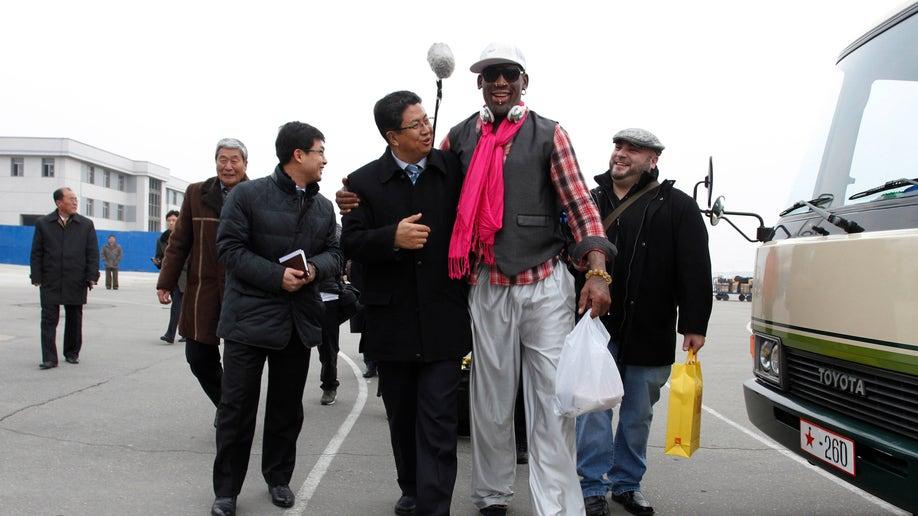 AP10ThingsToSee North Korea Rodman