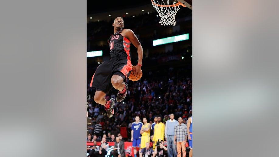 APTOPIX All Star Saturday Basketball