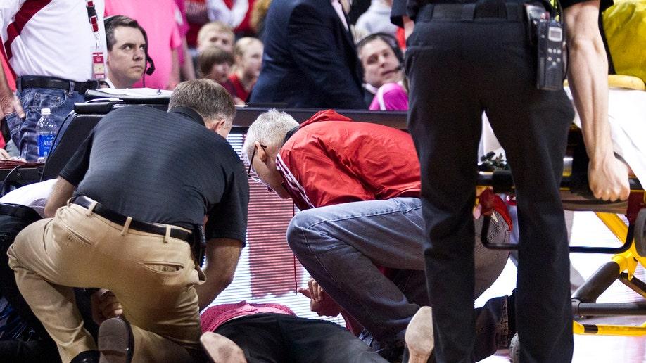 Indiana Nebraska Yori Collapses Basketball