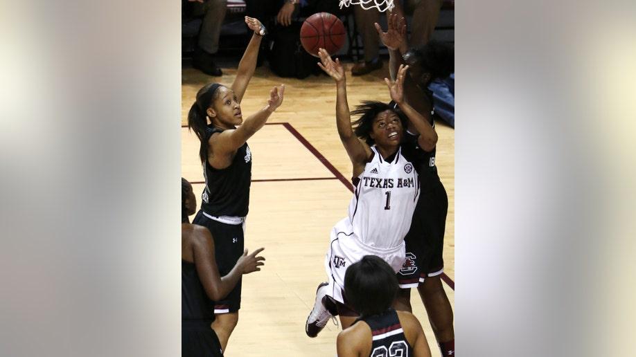 South Carolina Texas AM Basketball
