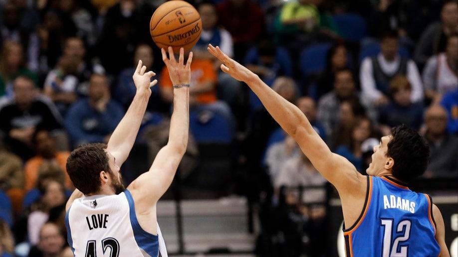 Thunder Timberwolves Basketball