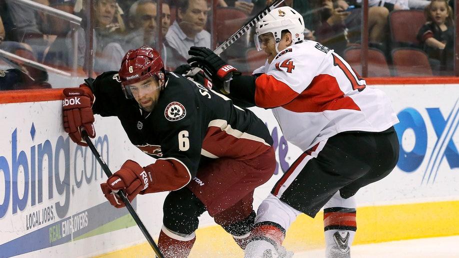 Senators Coyotes Hockey