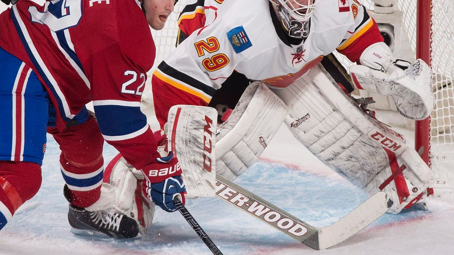 Flames Canadiens Hockey