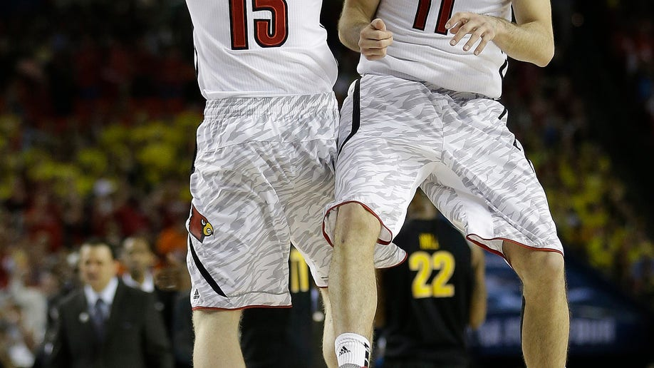 APTOPIX NCAA Final Four Wichita St Louisville Basketball