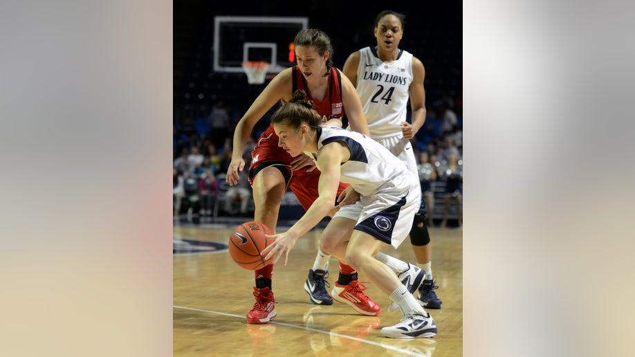 CORRECTION Nebraska Penn State Basketball