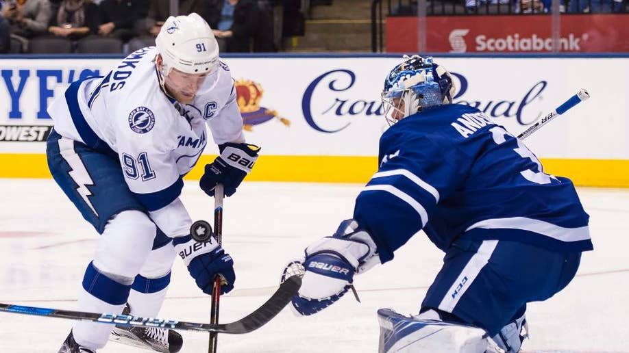 info for 21ec2 5ce68 Stamkos' 4 points lead Lightning over Maple Leafs | Fox News