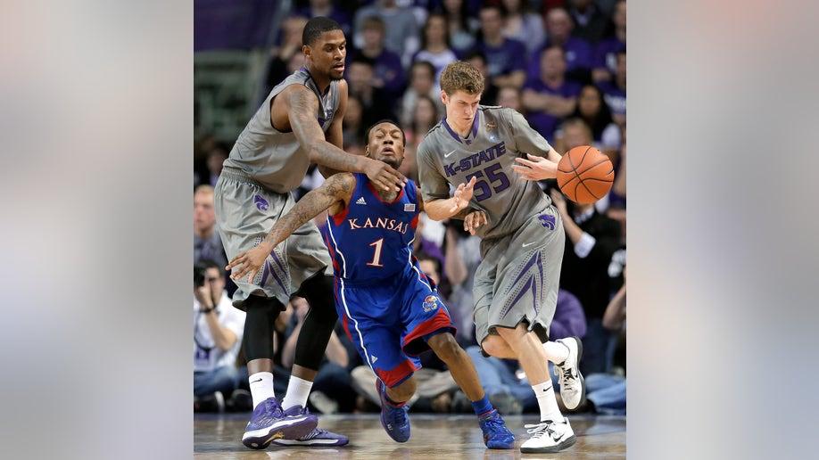 APTOPIX Kansas Kansas St Basketball