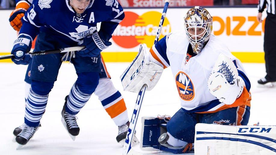 Islanders Maple Leafs Hockey