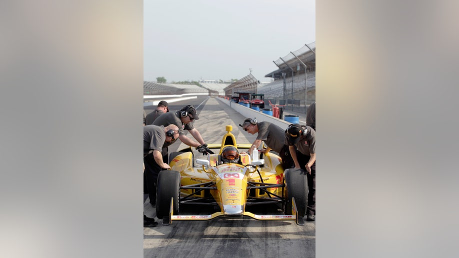 dcc95baa-NASCAR Kurt Busch Indy Test