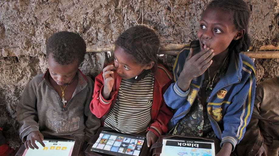 Ethiopia-Tablets as Teachers