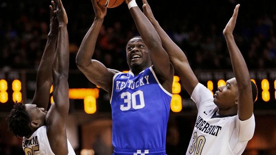 Kentucky Vanderbilt Basketball