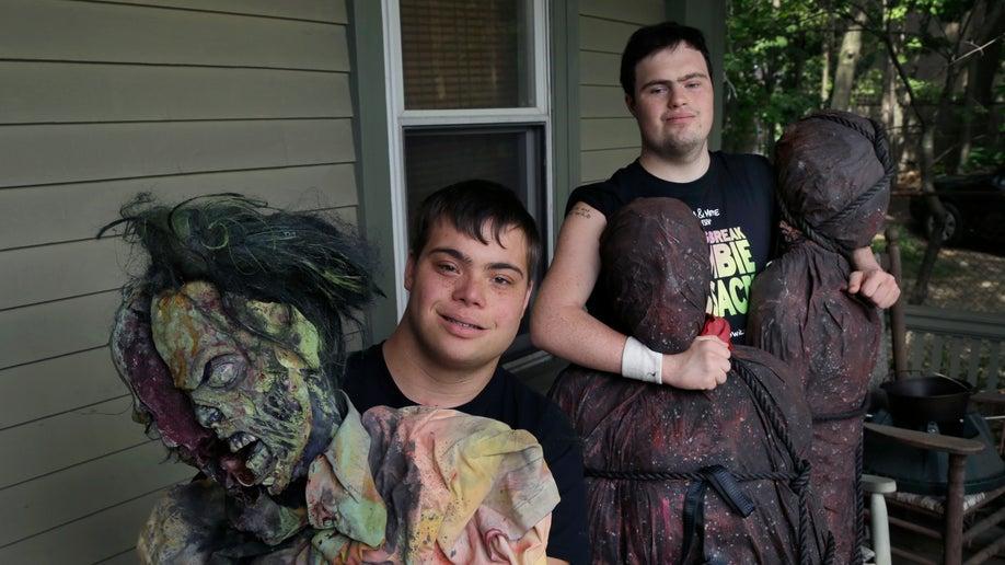 down syndrome best friends zombie movie ap