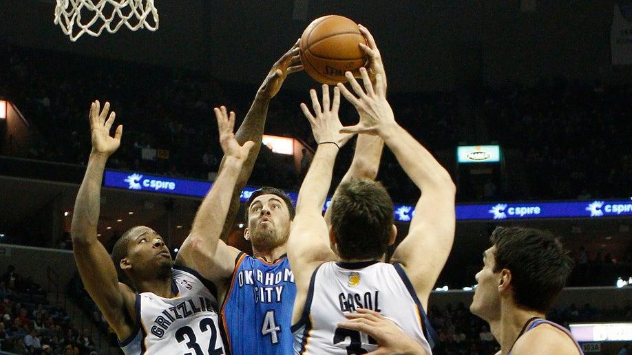Thunder Grizzlies Basketball