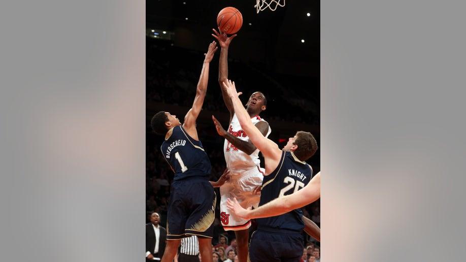 Notre Dame St. John's Basketball