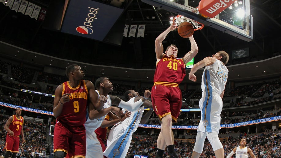 Cavaliers Nuggets Basketball