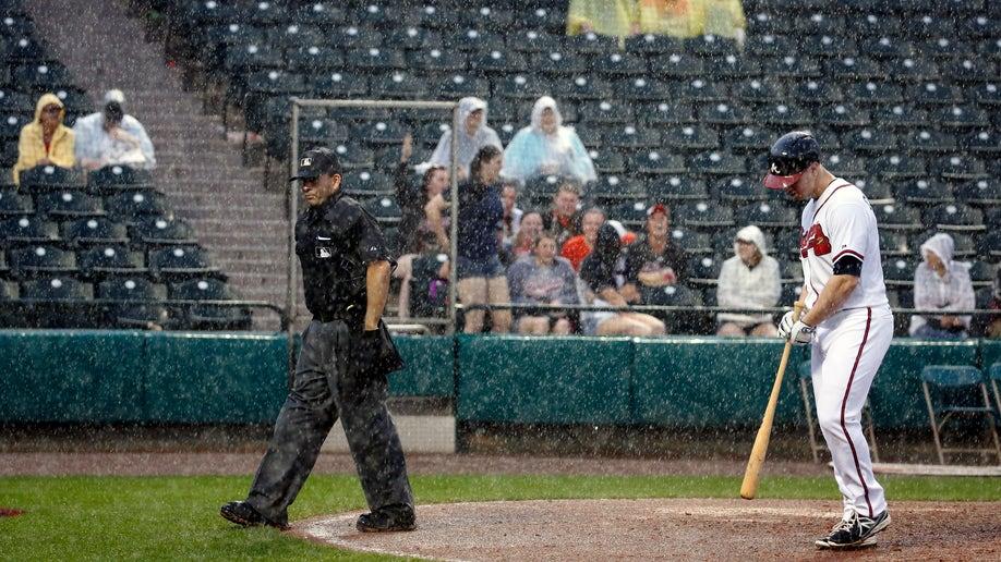 Tigers Braves Spring Baseball