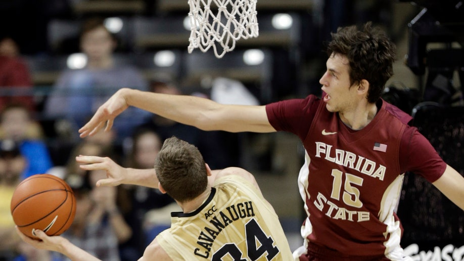 Florida State Wake Forest Basketball