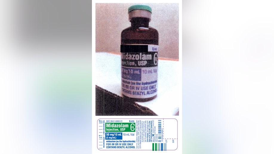 Arkansas Executions Drug