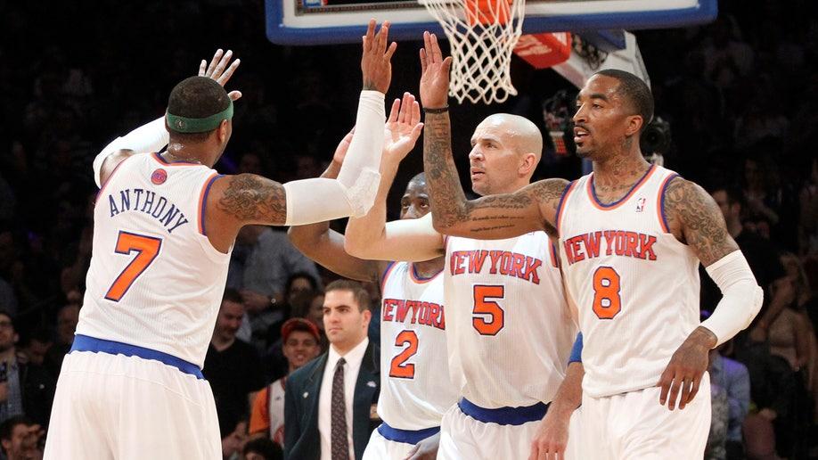Wizards Knicks Basketball